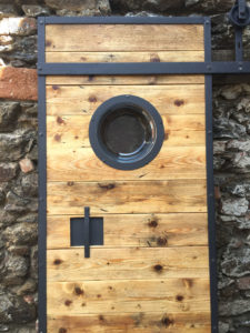 Posuvne dvere s loft designem