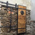 Designove loftove dvere