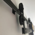 Ocelove kladky designove dvere
