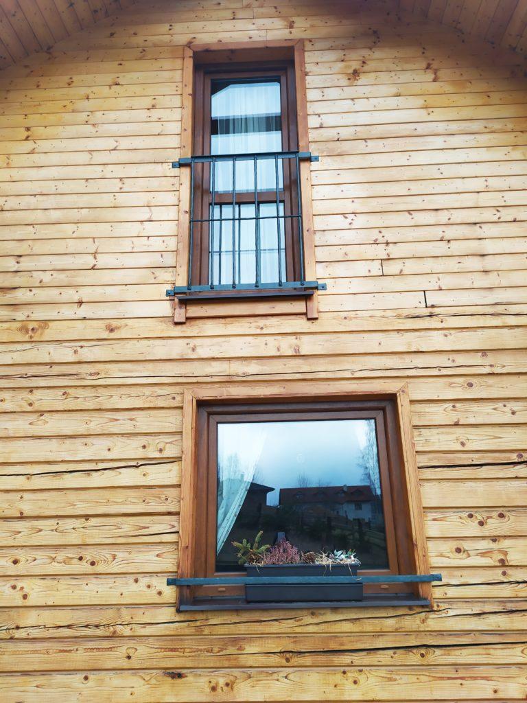 Francouzské zábradlí a okenní ohrádky