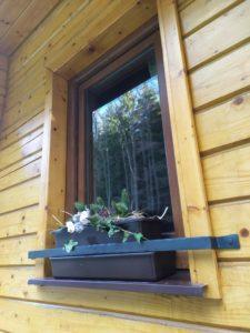 Kované okenní ohrádky